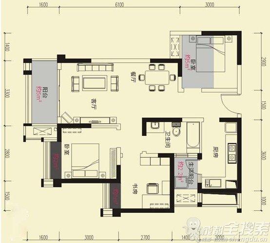 120平方自建房设计图展示