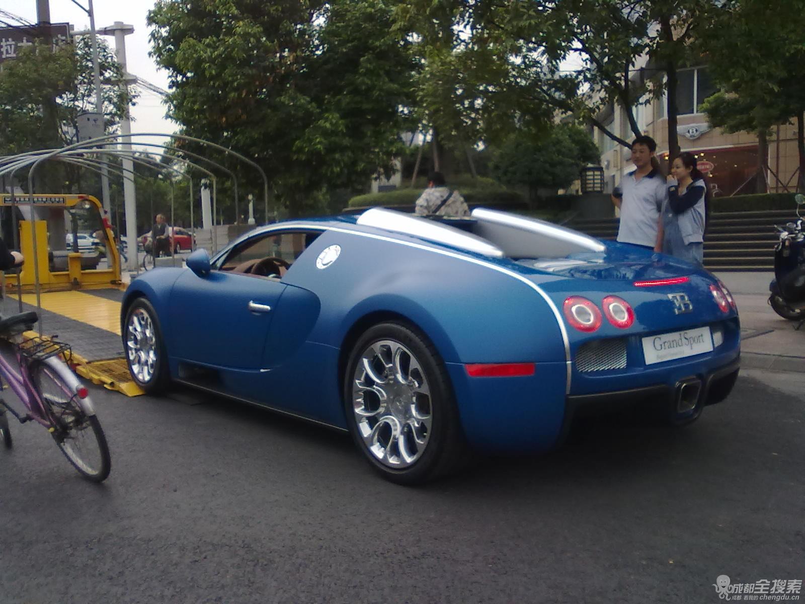 veyron在中国市场上被正式命名为