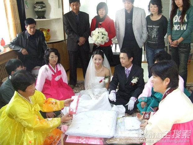 我的朝鲜传统婚礼~~当成都美女邂逅朝鲜族帅哥