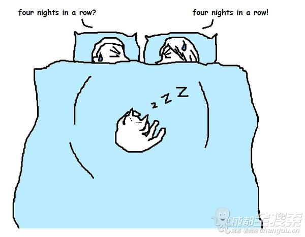 两人睡觉卡通图图片展示图片