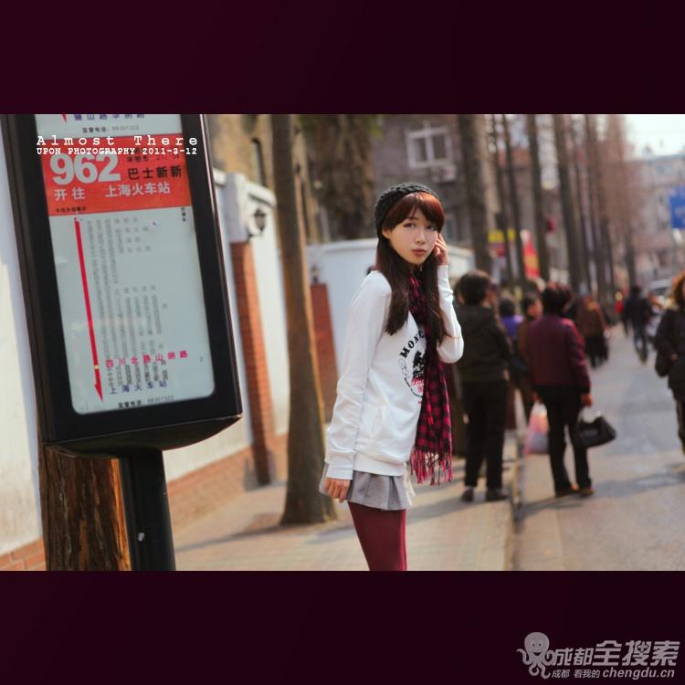 走在街上 最喜欢看美女