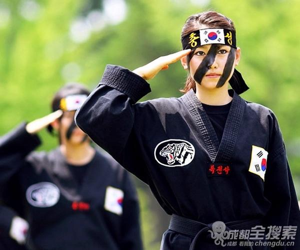 日本美女特种兵的魔鬼训练