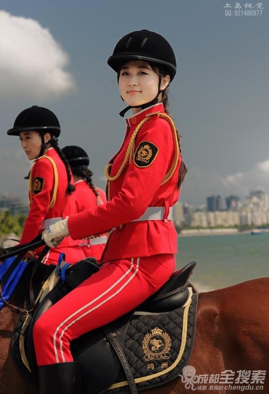 美女骑马中国美女骑马最新美女骑马图片女s 竖