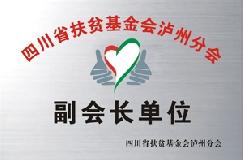 医院荣誉—四川省扶贫基金会泸州分会副会长单位