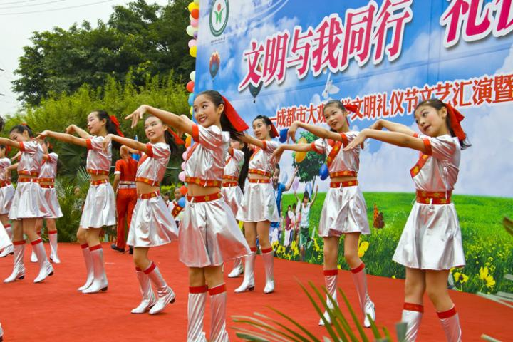 大观小学庆祝六一儿童节