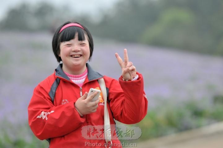 智障儿童图片_关爱智障儿童海报