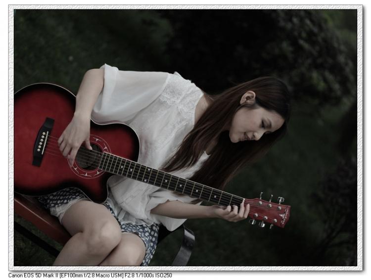 吉它美女 拍客论坛 成都图片网