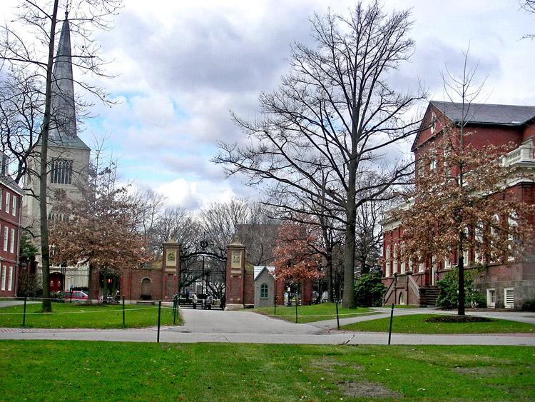 美国哈佛大学 风光旅行